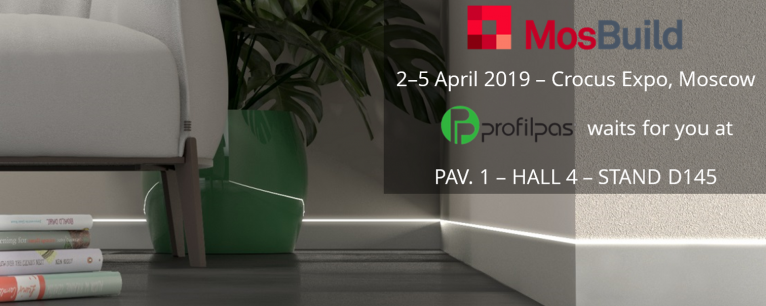 MosBuild - 2-5 April 2019 - Crocus Expo Moscow