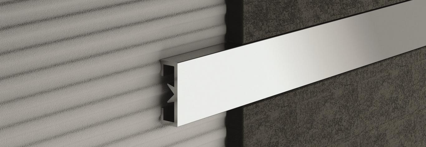 Listello tile trims and decorative profiles