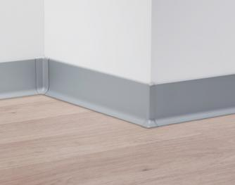 Metal Line 90 - Aluminum skirting board