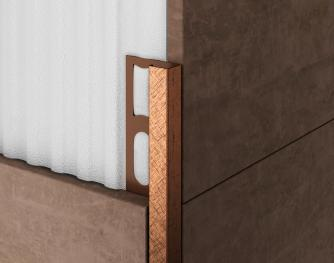 Aluminium Profiles - ZQAND/ brown