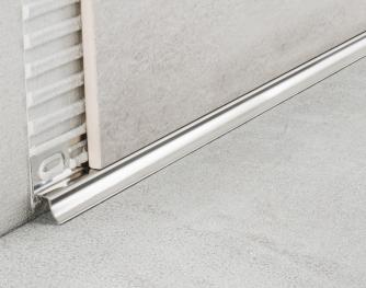 AISI 304 Stainless Steel Profiles - Cerfix Proint PIN/ in polished
