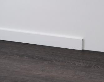 Aluminium Skirting Boards - Metal Line 89 white ST