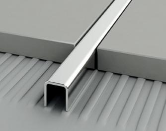 AISI 304 Stainless Steel Profiles - Projoint U - 80254