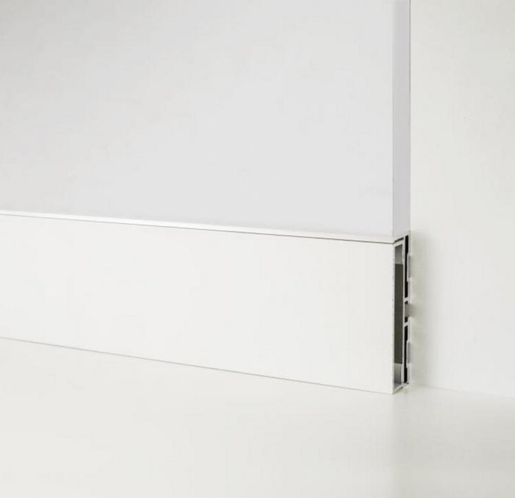 Aluminum skirting board - Metal Line 87 - 88