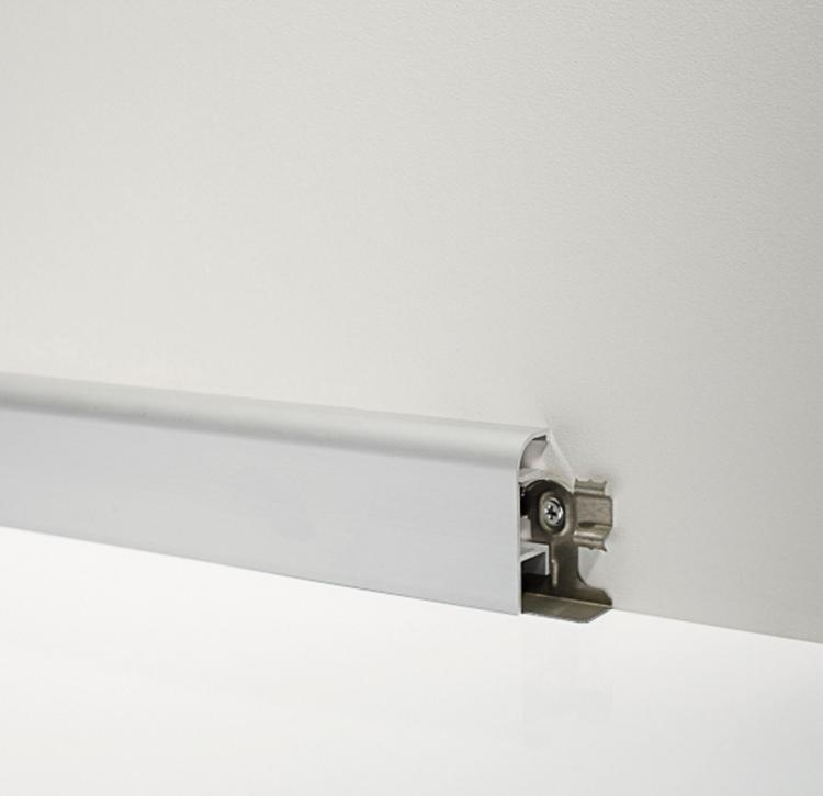 Aluminium Skirting Boards - Metal Line 97/4