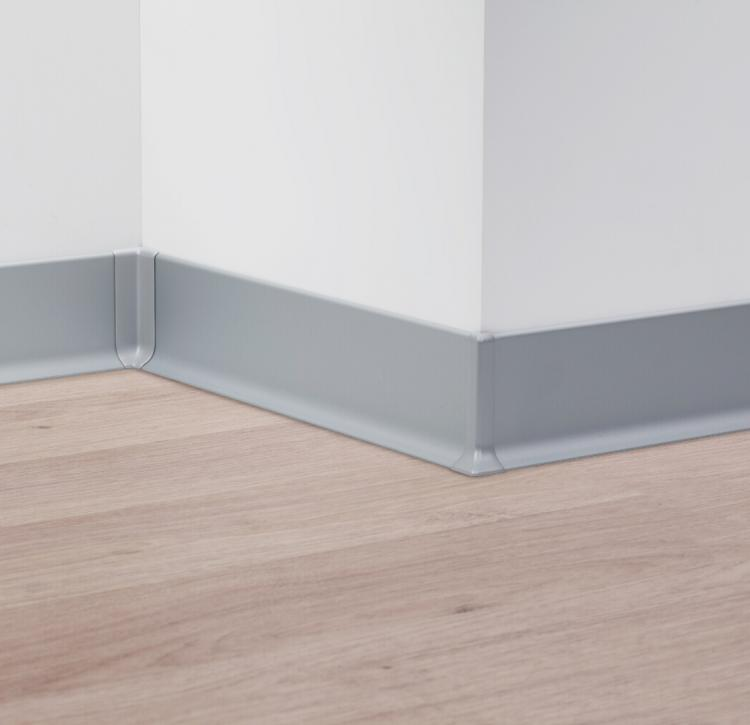 Aluminum skirting board - Metal Line 90