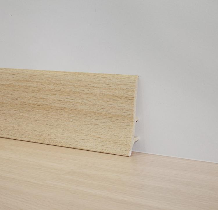 PVC Line 8607 - Foam PVC skirting board - 78749
