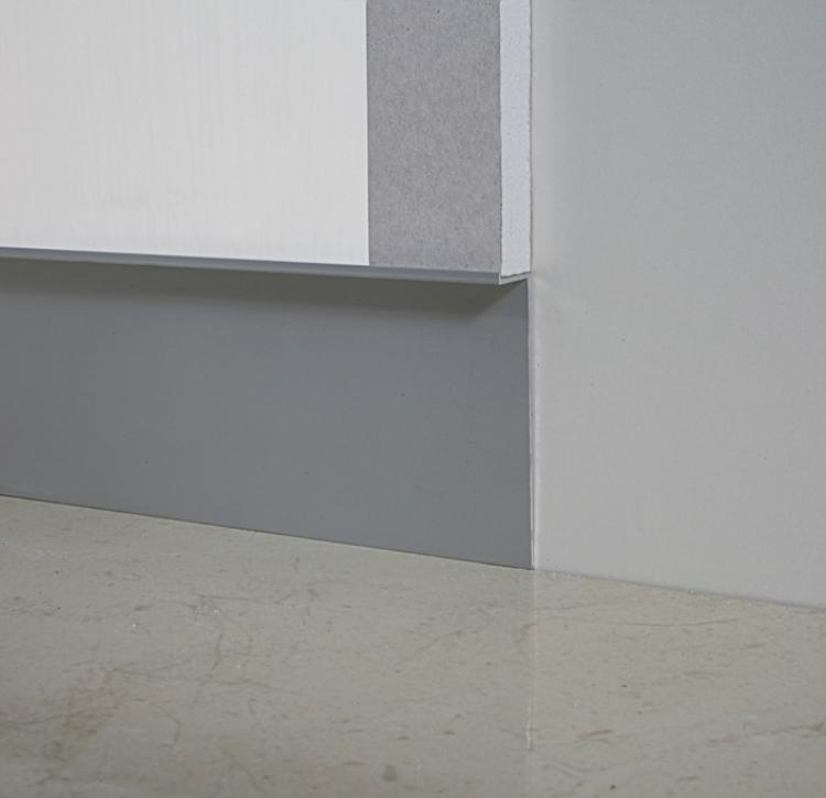 Metal Line 100 - Aluminum skirting board - 80557
