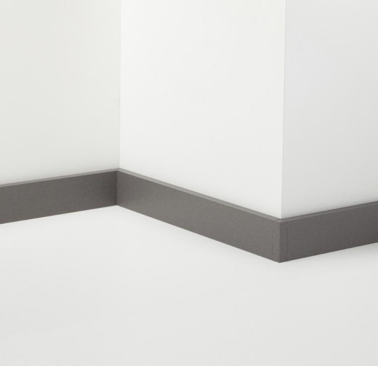 Metal Line 89 - Aluminum skirting board - 80615