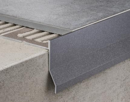 Aluminium Profiles - CPCV/ ancient grey colour-coated aluminium