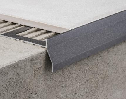 Aluminium Profiles - CPCV/30/ ancient grey colour-coated aluminium