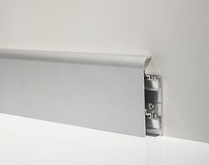 Metal Line 97/7 - Aluminium skirting board