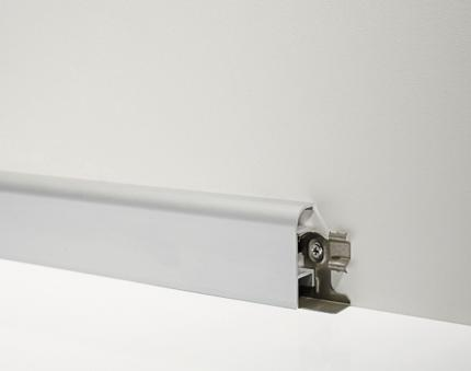 Metal Line 97/4 - Aluminium skirting board
