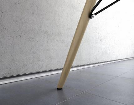 Aluminium Skirting Boards - Metal Line M Design AF/1