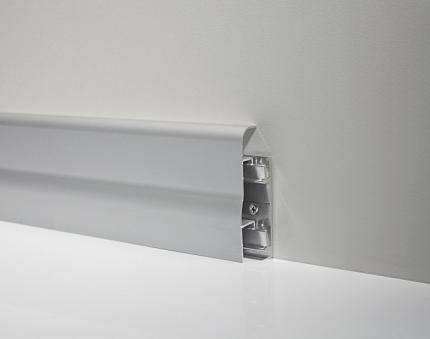 Metal Line 96 - Aluminum skirting board - 80410