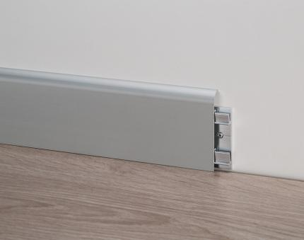 Aluminium Skirting Boards - Metal Line 92 - 80663