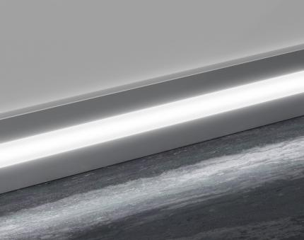 Aluminium skirting board - Prolight Metal Line 89